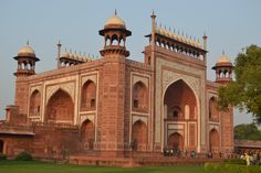 The South (Main) Gate of the Taj Mahal