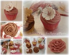 Curso de Cupcakes en Cakes Haute Couture.