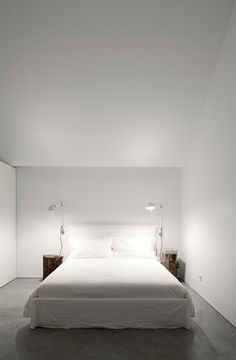 #Architecture in #Portugal - #Bedrooms by Aires Mateus Associados. ph Nelson Garrido