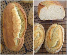 Mmmmmh lecker knuspriges Brot und feine Sesambrötchen ! #rezeptaufdemblog #selberbacken #yummy #nomnom #omnomnom #lecker #knusprig #brot #bread #weissbrot #whitebread #food #foodie #foodblogger #foodporn #baking #recipe #rezepte #blog #blogger #weils