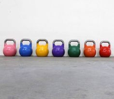 Competition Kettlebells for CrossFit - Color-Coded - Strength & Conditioning | Equipment RAW