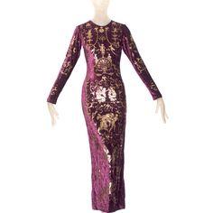 1990 Vivienne Westwood 'Portrait' Collection Dress