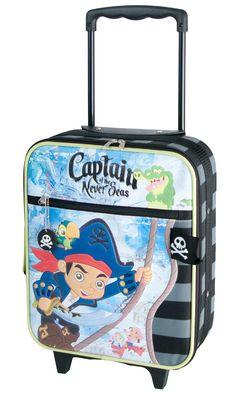 De lækreste Disney Captajn Jake kuffert captajn jake   til Kufferter i luksus kvalitet