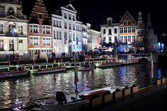 """Lichtfestival 2015 in Gent und Genter Lichtplan - """"Fee ist mein Name"""""""