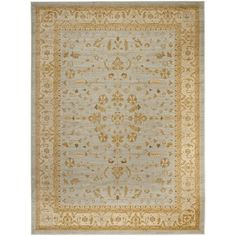 Safavieh Farahan Light Grey/ Gold Rug - Overstock™ Shopping - Great Deals on Safavieh 7x9 - 10x14 Rugs