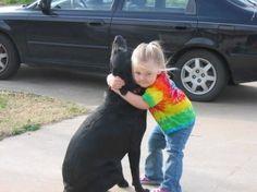 A child's letter about her beloved departed dog.