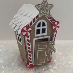Amanda Charlesworth demonstrates the Home sweet home thinlets and Sweet home stamp set to create a fun miniature christmas house. To shop online click the . Miniature Christmas, Stampin Up Christmas, Christmas Minis, Christmas Home, Christmas Holidays, Christmas Crafts, Christmas Decorations, Christmas Ornaments, Christmas Medley