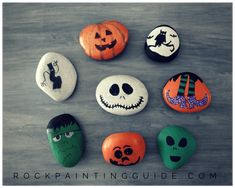 Try these fun Mom Approved Halloween Rock Painting crafts with your kids. Fun and easy painted rock crafts for all skill levels from beginners to advanced. Rock Painting Ideas Easy, Rock Painting Designs, Painting For Kids, Art For Kids, Kids Fun, Paint Ideas, Acrylic Painting Tips, Pebble Painting, Stone Painting