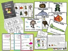 Guided Reading 101: Printables, Strategies and Word Work