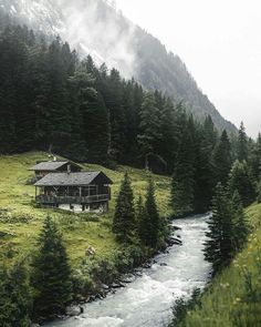 Moody summer in Tyrol, Austria 🇦🇹 – Landscape Photography Cabins In The Woods, House In The Woods, Landscape Photography, Nature Photography, Forest House, Cabins And Cottages, Cabin Homes, Beautiful Landscapes, The Great Outdoors