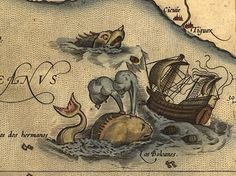 For thousands of years sea monsters have appeared on maps as both warnings to travelers and as decorations. Chet Van Duzer explores these monsters in his new book _Sea Monsters on Medieval and Renaissance Maps _and gives readers a better understanding of their place and purpose in history.