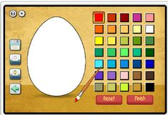 Decorate an Easter Egg online game