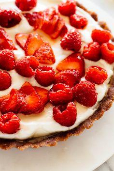 no bake greek yogurt tart