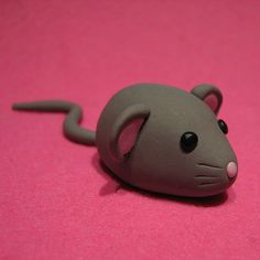 A very cute Fimo Mouse - handmade!