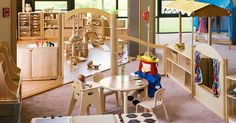 Dramatic Play area - furniture from Community Playthings