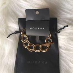 Gold Bracelet Double link bracelet. Morana Jewelry Bracelets