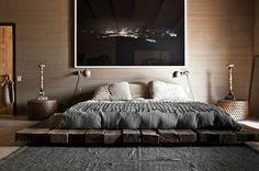 50 idéias de modelos de camas baixas ou com colchão no piso!!