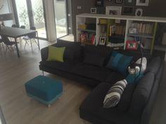 Sumo Pouf & Brick Cushion Brick, Sumo, Cushions, Couch, Furniture, Home Decor, Throw Pillows, Toss Pillows, Settee