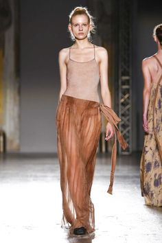 Uma Wang Ready To Wear Spring Summer 2016 Milan - NOWFASHION