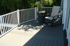 Composite deck with a view
