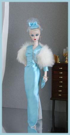OOAK Fashions for Silkstone / Fashion Royalty/ Vintage barbie / Poppy Parker