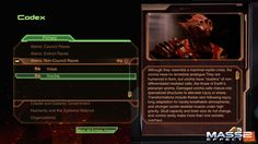 Mass Effect 2 Codex