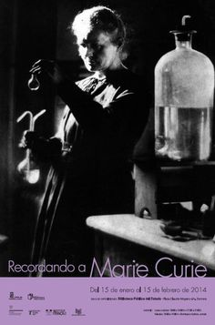 A través de instrumentos utilizados por Marie Curie en sus experimentos, material de laboratorio de la época, fotos, libros y una serie de paneles con información sobre la vida y obra de esta científica, Recordando a Marie Curie pretende acercar al público la figura de quien fue la pionera de la radioactividad.