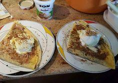 Ζύμη για κρέπες!!! (Και για γλυκές και για αλμυρές) συνταγή από Μαργιάννα Αρχοντοπούλου - Cookpad Puff Pastry Recipes, Camembert Cheese, French Toast, Cooking, Breakfast, Food, Roses, Phyllo Dough Recipes, Kitchen