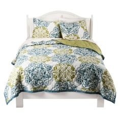Boho Boutique Mosaic Brocade 3-piece Quilt Set - this is my favorite so far - Target $99.99