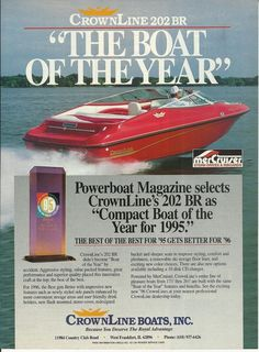 79ddb1710992919c8f339c32d4251e41 boating vintage ads 1964 aero craft aluminum boat featured in reynolds aluminum ad 1996 Crownline 182 at soozxer.org