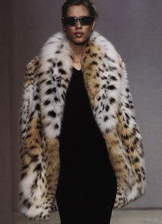lynx fur coat - here kitty, kitty