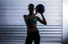 The 15-Minute Medicine Ball HIIT Workout