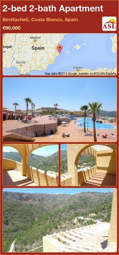 2-bed 2-bath Apartment in Benitachell, Costa Blanca, Spain ►€90,000 #PropertyForSaleInSpain