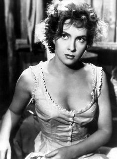 gina lollobrigida. My grandpa used to call me this all the time and I'm just now learning who she is.