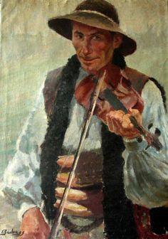 Ignacio Zuloaga - Retrato de violinista