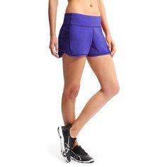 Athleta Women Ready Set Short Size L ($44) ❤ liked on Polyvore featuring activewear, activewear shorts, vibrant cobalt, athleta sportswear and athleta