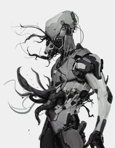 Robot monster by Robotpencil