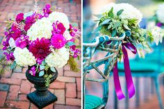 Bright Fuchsia and Gold Wedding at Westfields Marriott | Real Weddings | Washingtonian Bride & Groom