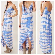 Blue Moon Tulip Dress