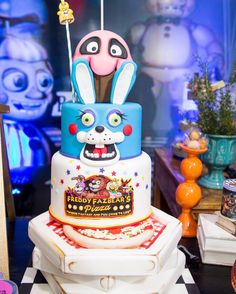Cake Design Five Night at Freddys