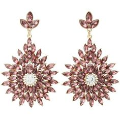 Charlotte Russe Gemstone Cluster Drop Earrings (78.010 IDR) ❤ liked on Polyvore featuring jewelry, earrings, oxblood, gem jewelry, tear drop earrings, gemstone earrings, sparkle jewelry and gem earrings