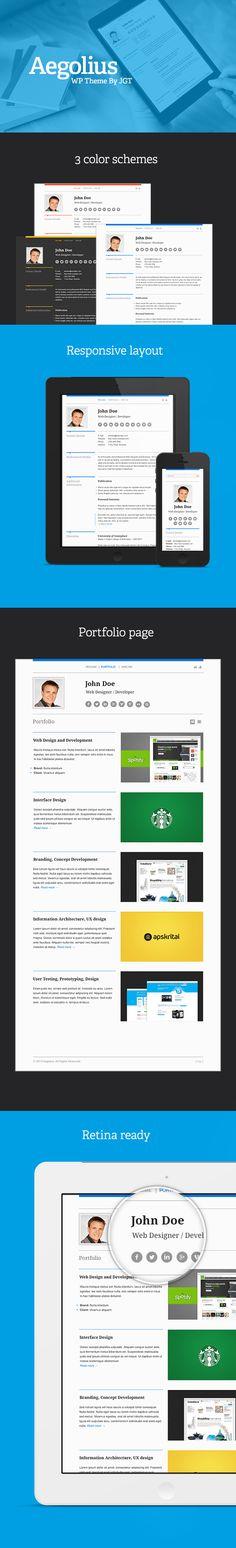 Clarix u2013 Creative Agency \ Portfolio WordPress Theme + Download - wordpress resume themes