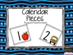 by Adventures in Kinder and Beyond PreKindergarten - Grade One of the skills taught in Kindergarten is recognizing pattern. Apple Calendar, Calendar Time, Free Calendar, Calendar Ideas, Kindergarten Calendar, Kindergarten Lessons, Kindergarten Reading, Math Lessons, Fun Classroom Activities