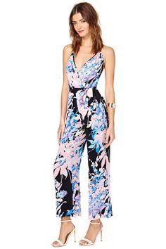 Yumi Kim Dina Silk Jumpsuit | Shop Rompers + Jumpsuits at Nasty Gal