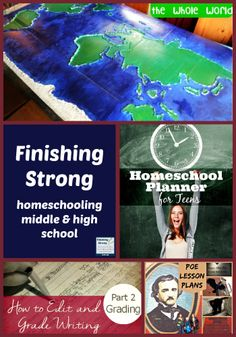 Finishing Strong ~ Homeschooling the Middle & High School Years #42