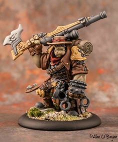 Privateer Press Warmachine Hordes Trollbloods Grim Angus