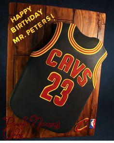 Cavs Jersey #23 Cake