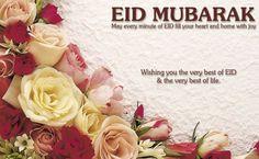 Eid Mubarak In English
