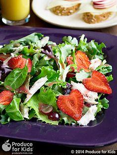 Easy Strawberry Summer Salad