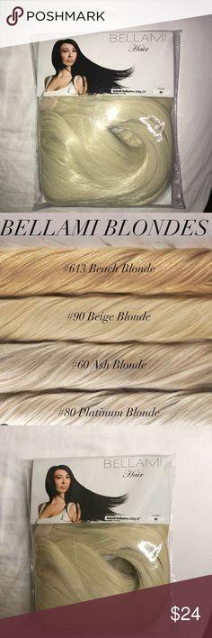 "BELLAMI PONYTAIL- Platinum Blonde Color - Platinum Blonde #80 FAUX PONYTAIL 24""  180g Accessories Hair Accessories"